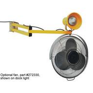 Wesco 202108 Dock Fan On Extending Arm-1