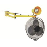 Wesco 272360 Dock Light And Fan On Extending Arm-1