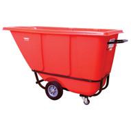 Wesco 272578 Red Tilt Cart Standard 12 Cubic Yard 850 Pound Capacity-1