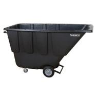 Wesco 272581 Black Tilt Cart Utility 1 Cubic Yard 850 Pound Capacity-1