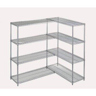 Wesco 272733 Wire Shelving Add-on Kit 24 X 60 X 63-1