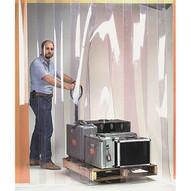 Wesco 272885 12 Wide Ribbed Easy Mount Strip Door Ribbed 10'x9'-1