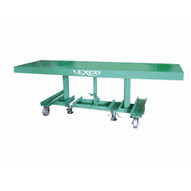Wesco STN-3008-2F-A Lexco Long-deck Foot-operated Hydraulic Lift Table 30 X 96-1