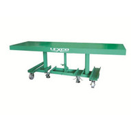 Wesco STN-3010-2F-A Lexco Long-deck Foot-operated Hydraulic Lift Table 30 X 120-1