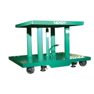 Wesco HT-3438-2F-A-2K Lexco Foot Operated Hydraulic Lift Table 30 X 48-1
