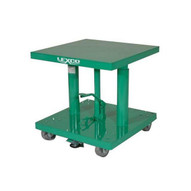 Wesco HT-412-FR Lexco Foot Operated Hydraulic Lift Table 18 X 24 12 Lift-1