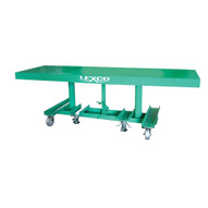 Wesco STN-2008-2F-A-2K Lexco Long-deck Foot-operated Hydraulic Lift Table 20 X 96-1