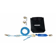 Werner L120100 100 Foot 2-man Rope Horizontal Lifeline Systemd-bolt Anchor Rope Tensioner-1