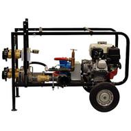 Wheeler Rex 363060 Gas Powered Fire Hose Tester 4 Outlet 400psi-1