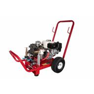 Wheeler Rex 465210 Comet Triple Diaphragm Hydrostatic Test Pump 10 GPM500 PSI Honda Engine W Cart-1