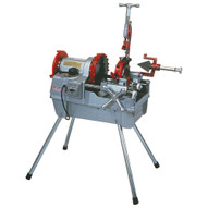 Rex Wheeler 6793 (12 to 4 pipe) Pipe Threading Machine (Includes 3 Self Open Notch Type Die Heads)-1