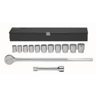 Wright Tool 614 34dr 12pc Socket Set-1