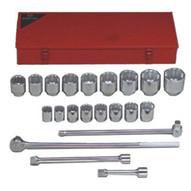 Wright Tool 821 1dr 21pc Socket Set-1