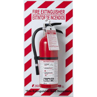 Zing 2671 Fire Extinguisher Back Plate Glow In The Dark-1