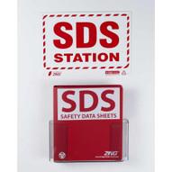 Zing 2708 Eco Sds Economy Station Kit Holder Binder And Sign-1