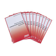 Zing 2709SPN Eco Ghs-sds Training Booklets Spanish 10pack-1