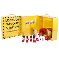 Zing 2722 Lockout Cabinet With Aluminum Padlocks - Stocked-2