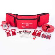 Zing 2725 Lockout Belt Pack Kit With Aluminum Padlocks 20 Components-2