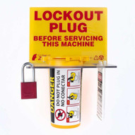 Zing 2730 Lockout Tagout Station Plug Lockout Waluminum Padlock-1