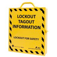 Zing 6062E Lockout Cabinet - Empty-2