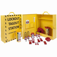 Zing 6062 Lockout Cabinet - Stocked-2