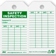 Zing 7014 Eco Safety Tag Safety Inspection 5.75hx3w 10 Pack-2