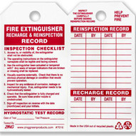 Zing 7016 Eco Safety Tag Fire Extinguisher 5.75hx3w 10 Pack-1