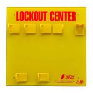 Zing 7113E Lockout Station 3 Padlock Unfilled-2
