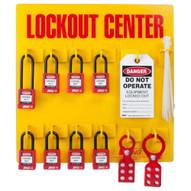 Zing 7114 Lockout Station 8 Padlock Stocked-2