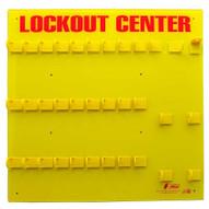 Zing 7116E Lockout Station 28 Padlock Unfilled-2