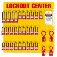 Zing 7116 Lockout Station 28 Padlock Stocked-1