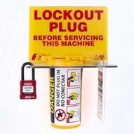 Zing 7117 Lockout Tagout Station Plug Lockout-2