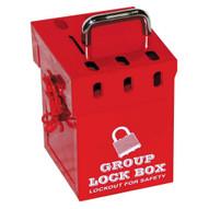 Zing 7286 Mini Group Lock Box - Red 7-2