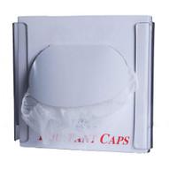 Zing 7305 Eco Bouffant Cap Dispenser Single Box Clear Plastic 9hx10wx4d-1