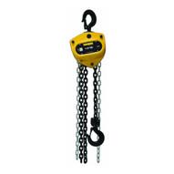 Sumner PCB150C30WO Premium 1-12 Ton Chain Hoist 30' Lift With Overload Protection-1