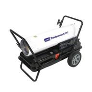 LB White Tradesman K175 175000 Btuh Kerosene # 1 Or # 2 Fuel Oil Forced Air Heater-1