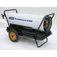 LB White Tradesman K400 400000 Btuh Kerosene # 1 Or # 2 Fuel Oil Forced Air Heater-1