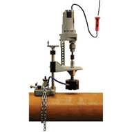 Rex Wheeler 1662 Hole Cutter System will cut up to 4-12 inch pipe-1