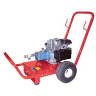 Wheeler Rex 462000 Hydrostatic Triplex Plunger Test Pump 3.5 gpm 1200 psi 5.5 hp. Honda engine-1
