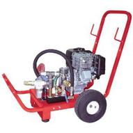 Wheeler Rex 464530 Hydrostatic Twin Piston Test Pump 10 gpm 400 psi 5.5 hp. Honda engine-1