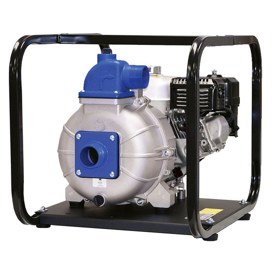 Wheeler Rex 563000 3 inch Trash Pump with 5.5hp Honda Engine-1