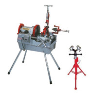 Wheeler Rex 6790 (1 2 to 4 pipe) Pipe Threading Machine (FREE 851 V-HEAD PIPE SUPPORT)-2