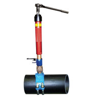 Wheeler Rex 8100 Pipe Hot Tapper With 3 4 and 1 For NPT Threads-2